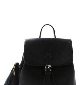 Le Meil Faux Leather Backpack