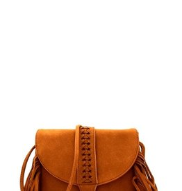Le Meil Braided Fringe Cross Body
