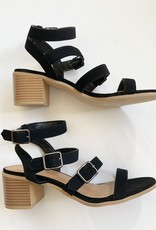 Forever Shelly Strap Heel