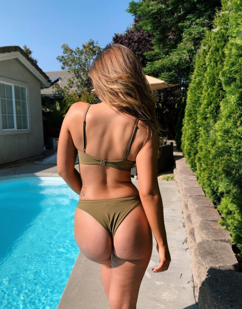 Bow N Arrow Miami Bikini Top