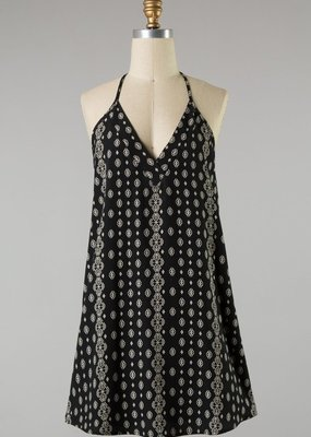 Bow N Arrow Printed Tank Dress