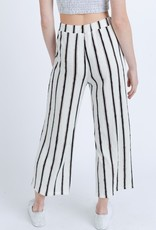 Love Tree White/Red Stripe Lounge Pant