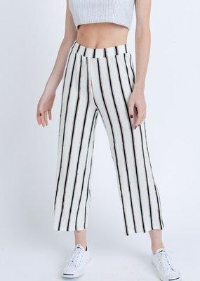 Love Tree White/Red Stripe Lounge Pant