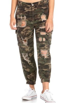 Bow N Arrow Camo Cargo Joggers