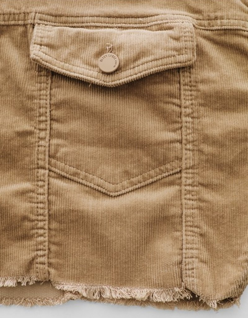 Bow N Arrow Cropped Corduroy Jacket