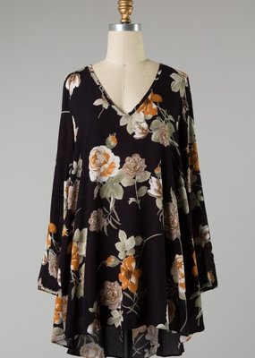 Bow N Arrow Floral Tunic Dress