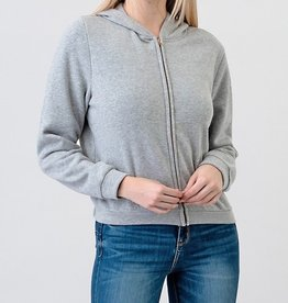 Bow N Arrow Fleece Zip Hoodie