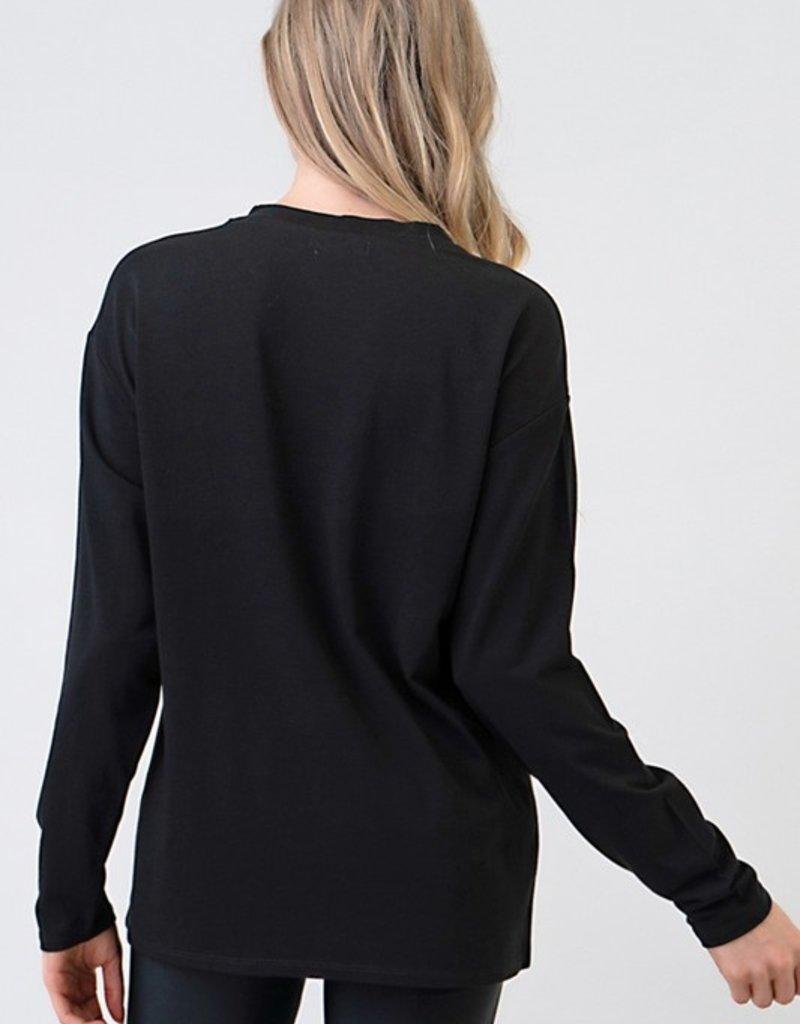 Bow N Arrow Long Sleeve Jersey Top