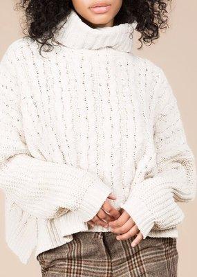 Bow N Arrow Knit Turtle Neck Sweater