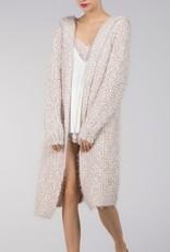 Bow N Arrow Fuzzy Alpaca Oversized Cardigan