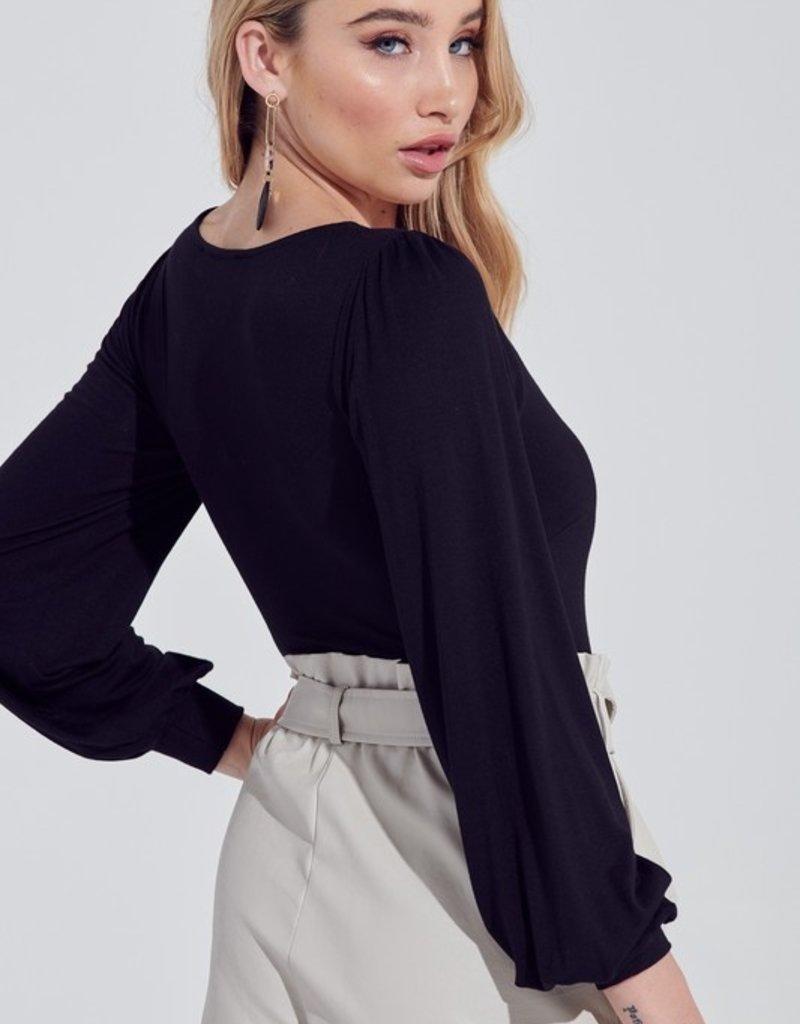 Bow N Arrow Bubble Long Sleeve Bodysuit