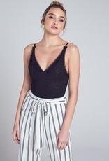 Bow N Arrow Lace Animal Print Bodysuit