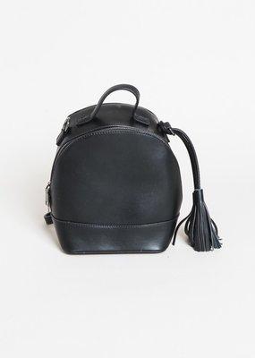 Bow N Arrow Black Simple Backpack