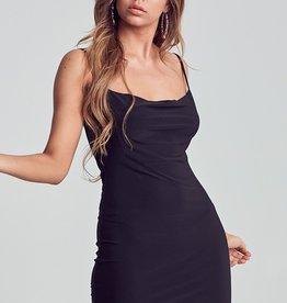 Bow N Arrow Black Mini Dress