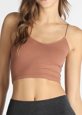 Bow N Arrow Cognac Seamless Cami