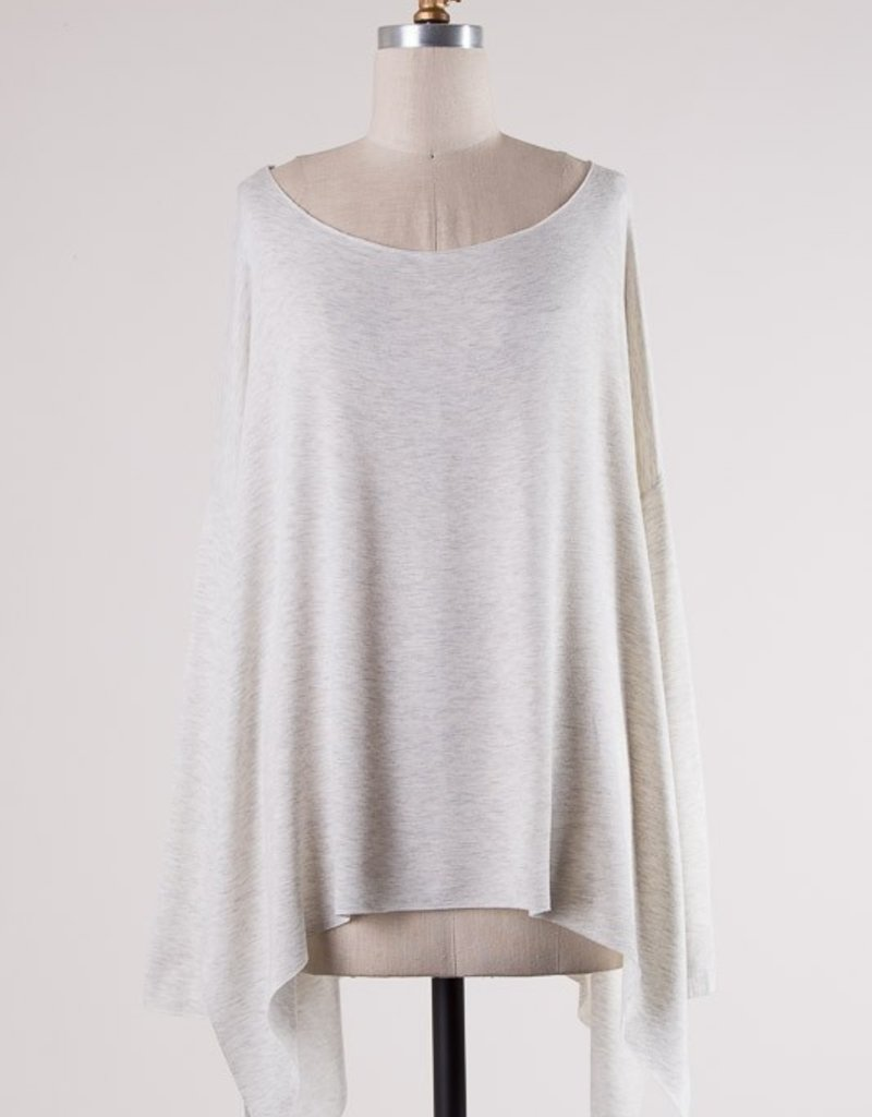 Bow N Arrow Oatmeal Tunic Long Sleeve