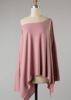 Bow N Arrow Mauve Tunic Long Sleeve
