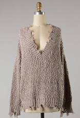 Bow N Arrow Mocha Fall SZN Sweater