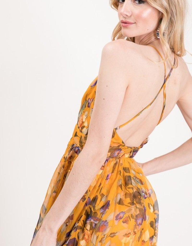 Bow N Arrow Fall Floral Dream Maxi Dress