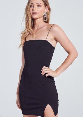 Bow N Arrow Kelly Black Bodycon Dress