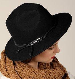 Bow N Arrow Black Stace Felt Hat