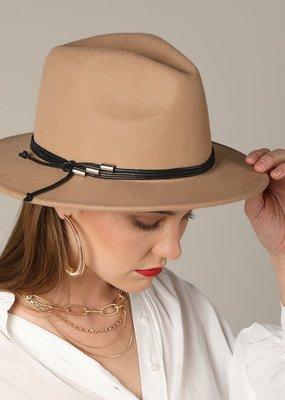 Bow N Arrow Beige Stace Felt Hat