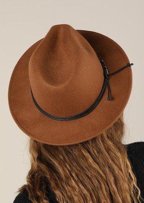 Bow N Arrow Brown Stace Felt Hat