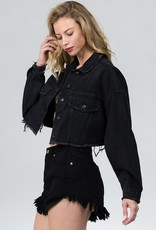 Bow N Arrow Street Style Denim Jacket