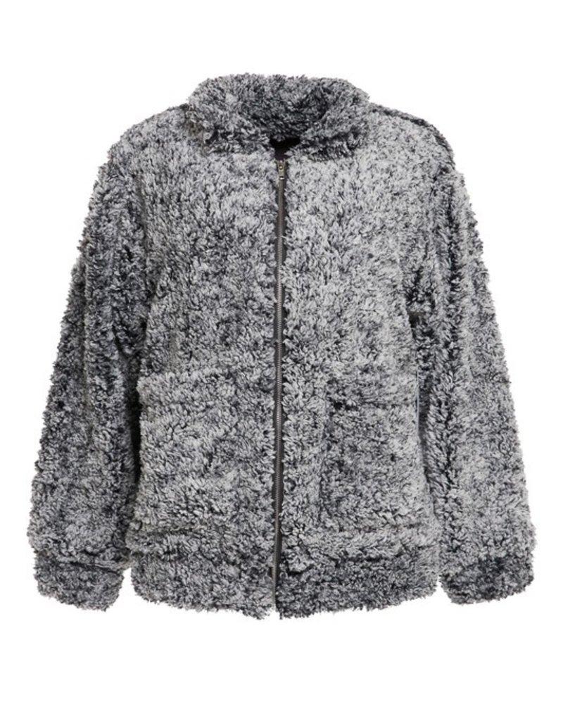 Bow N Arrow Grey Jess Jacket