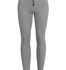 Bow N Arrow Plaid Zipper Jegging