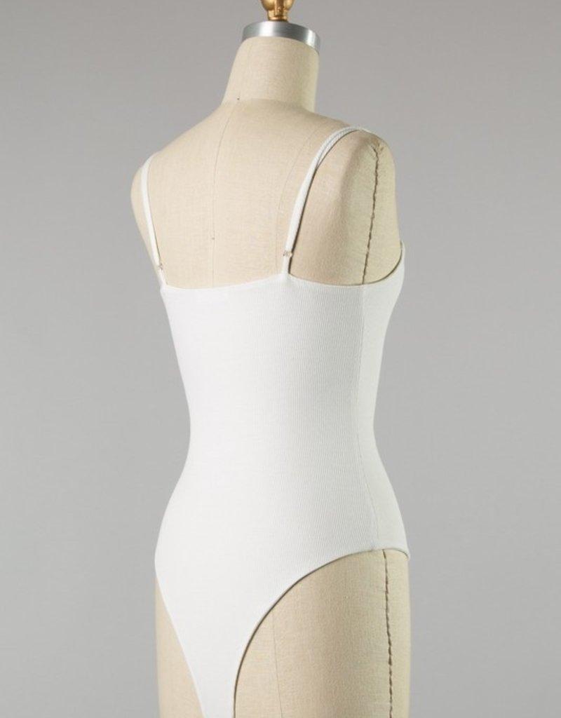 Bow N Arrow White Becky Bodysuit