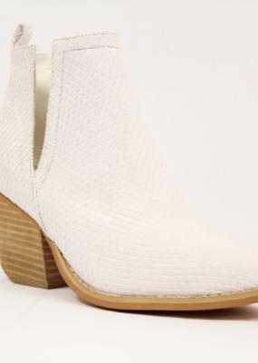Bow N Arrow Jena White Boot