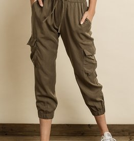 Bow N Arrow Army Green Joggers