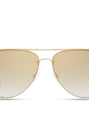 Bow N Arrow High Key Rimless Mini Sunglasses