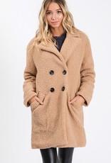 Bow N Arrow Camel Fleece Jacket