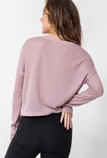 Bow N Arrow Pink Button Me Up Top