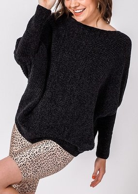 Bow N Arrow Black Stace Sweater