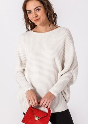 Bow N Arrow Off White Stace Sweater