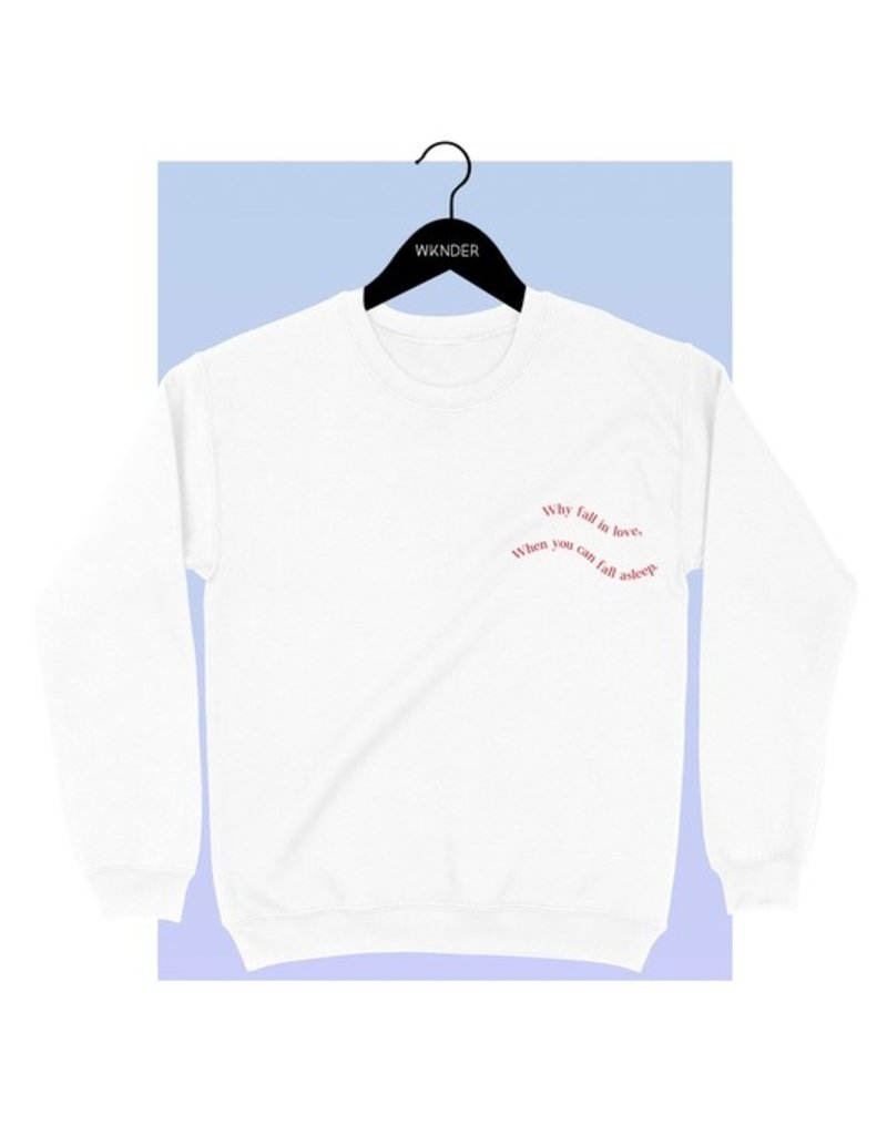 Bow N Arrow White Fall In Love Sweatshirt