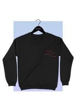 Bow N Arrow Black Fall In Love Sweatshirt