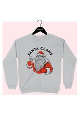 Bow N Arrow Grey Santa Claws Sweatshirt