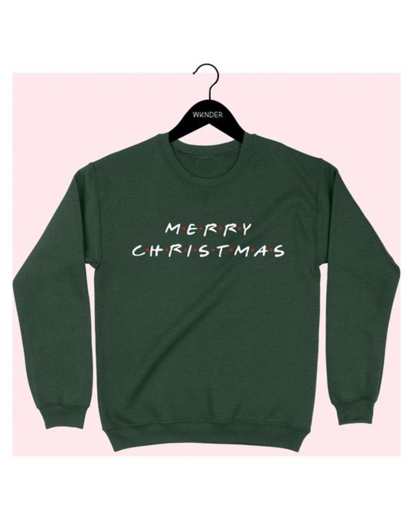 Bow N Arrow Hunter Green Xmas Sweatshirt