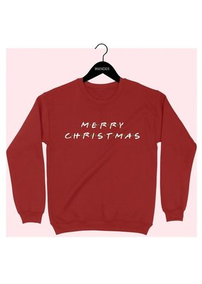 Bow N Arrow Red Xmas Sweatshirt