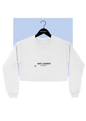 Bow N Arrow White YSL Sweatshirt