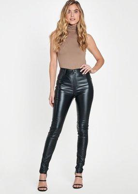 Bow N Arrow Leather High Rise Pant