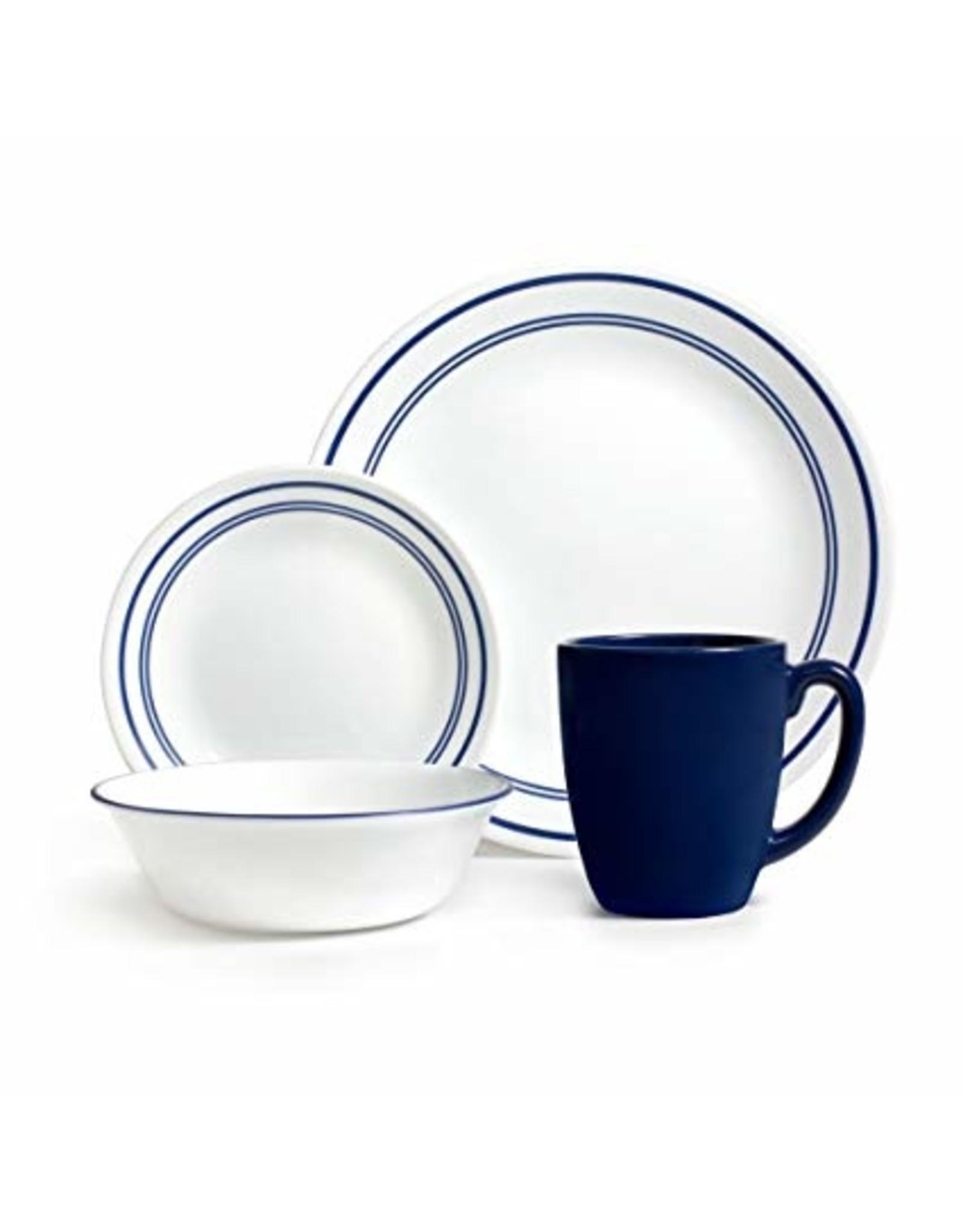 Corelle CORELLE SET CLASSIC, CAFE BLUE Service for 4