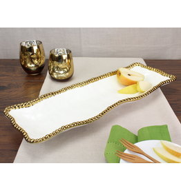 Pampa Bay Pampa Bay Rectangular Serving Piece CER-2109-WG
