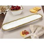 Pampa Bay Pampa Bay Porcelain Cracker Tray CER-1150-WG