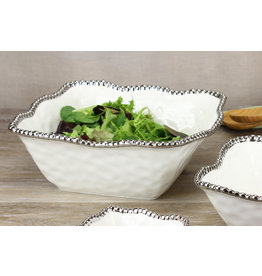 Pampa Bay Pampa Bay Large Square Salad Bowl CER-2253-W