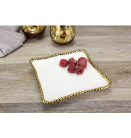 Pampa Bay Pampa Bay Square Appetizer/Dessert Plate CER-2257-WG